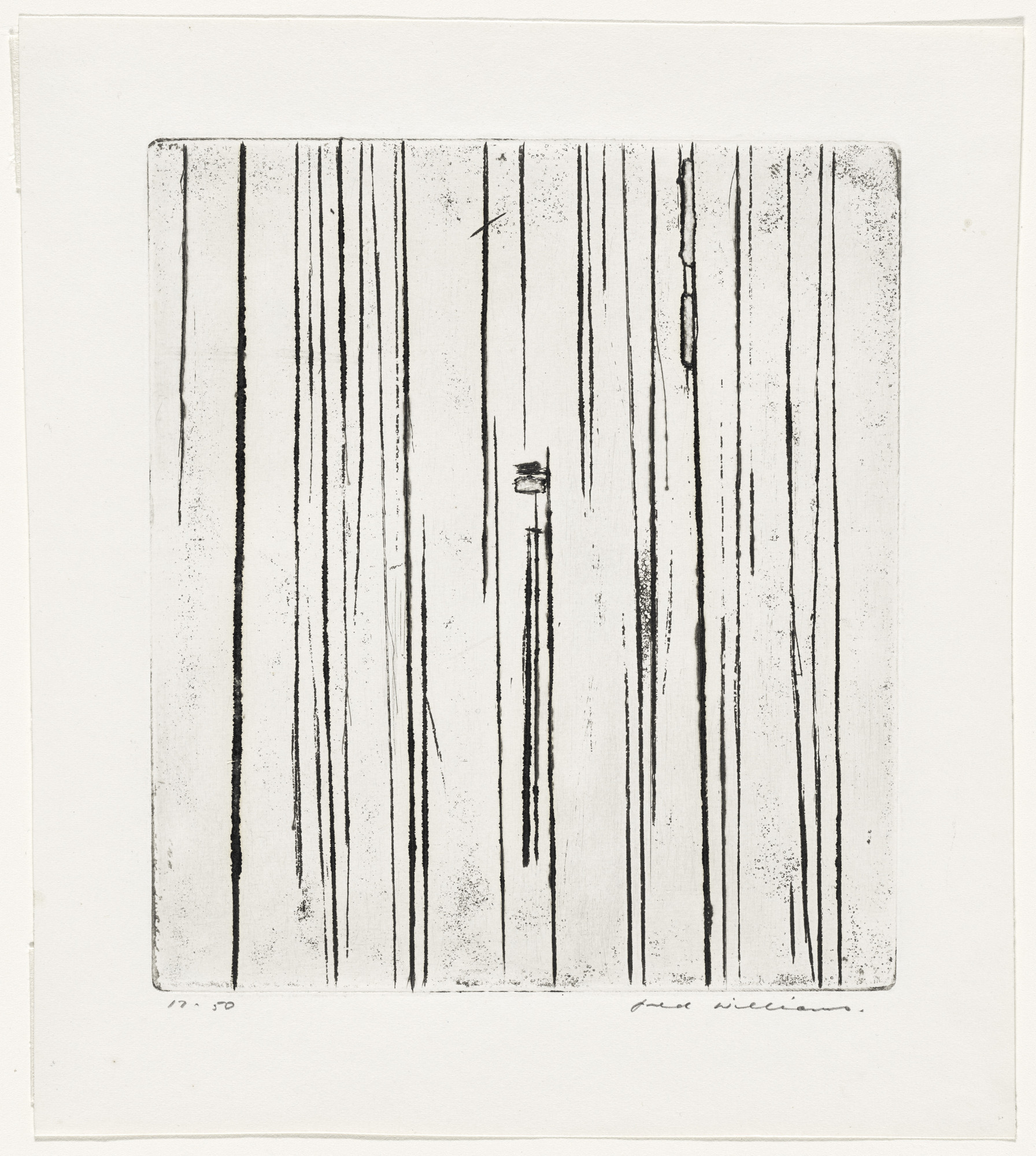 Fred Williams. Sherbrooke Forest No. 1, State XV/XXIII. 1961