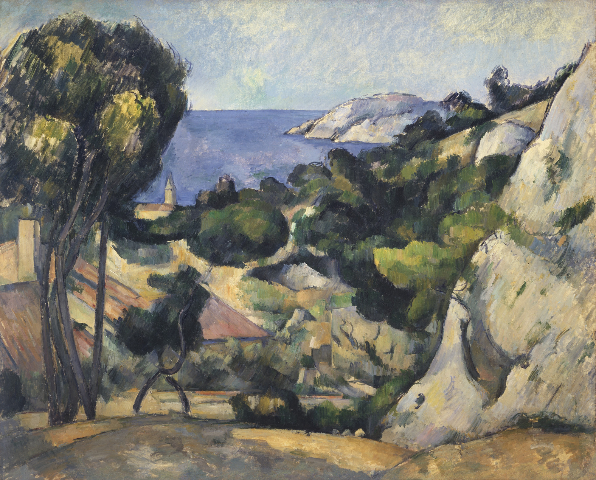 Paul Cézanne. L'Estaque. 1879-83