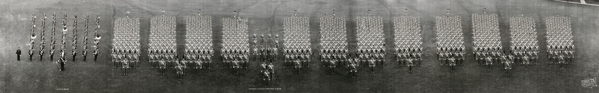 Eugene Omar Goldbeck. U.S. Corps of Cadets, West Point. 1938