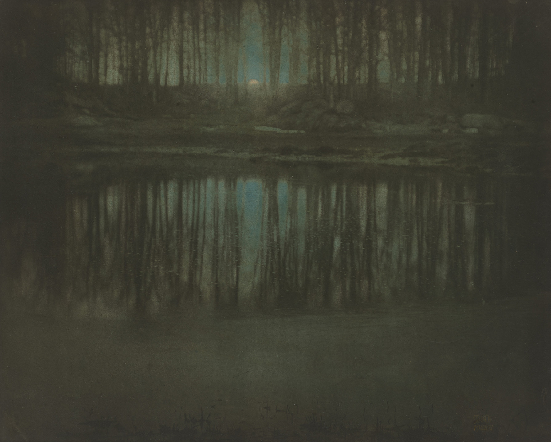 Edward Steichen. Moonrise—Mamaroneck, New York. 1904