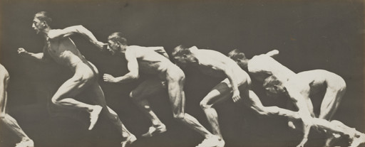 Étienne-Jules Marey with Georges Demeny. Untitled (Sprinter). After 1893