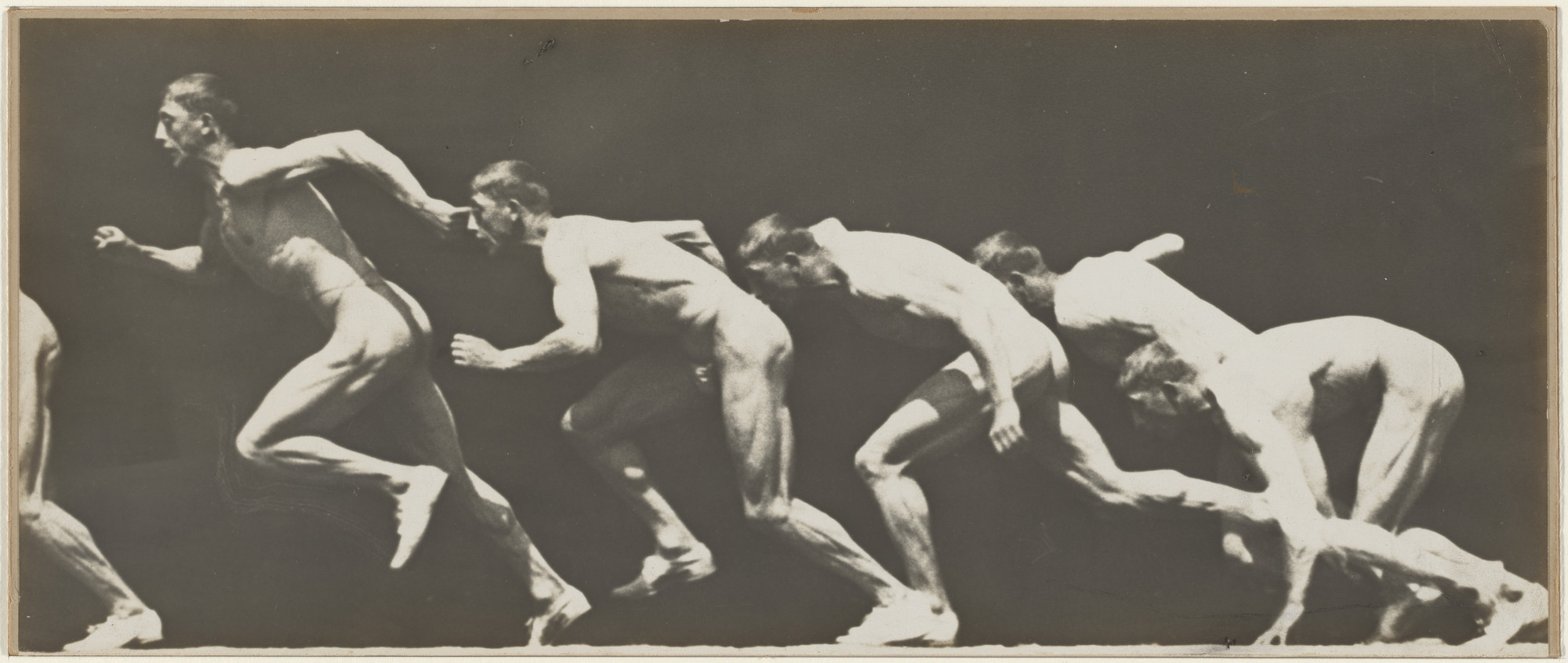 Étienne-Jules Marey, Georges Demenÿ. Untitled (Sprinter). After 1893