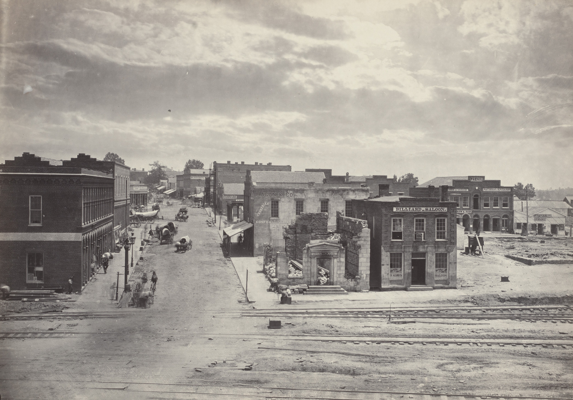 George Barnard. City of Atlanta, Georgia, No. 2 from the album Photographic Views of Sherman's Campaign. 1864-65