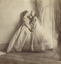 Clementina, Lady Hawarden. Grace Maude and Clementina Maude. c. 1863