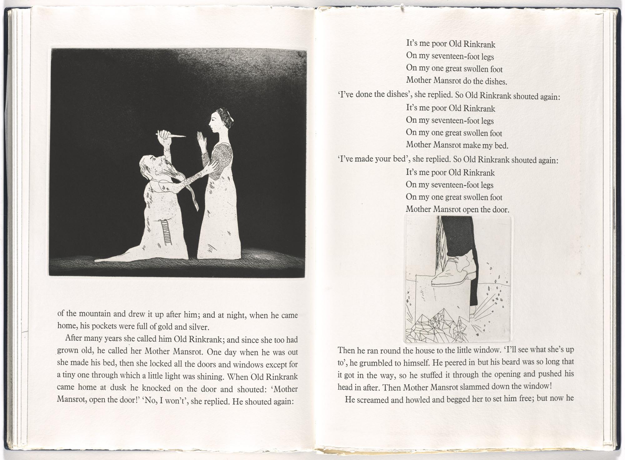 David Hockney  Six Fairy Tales  1970, prints executed 1969