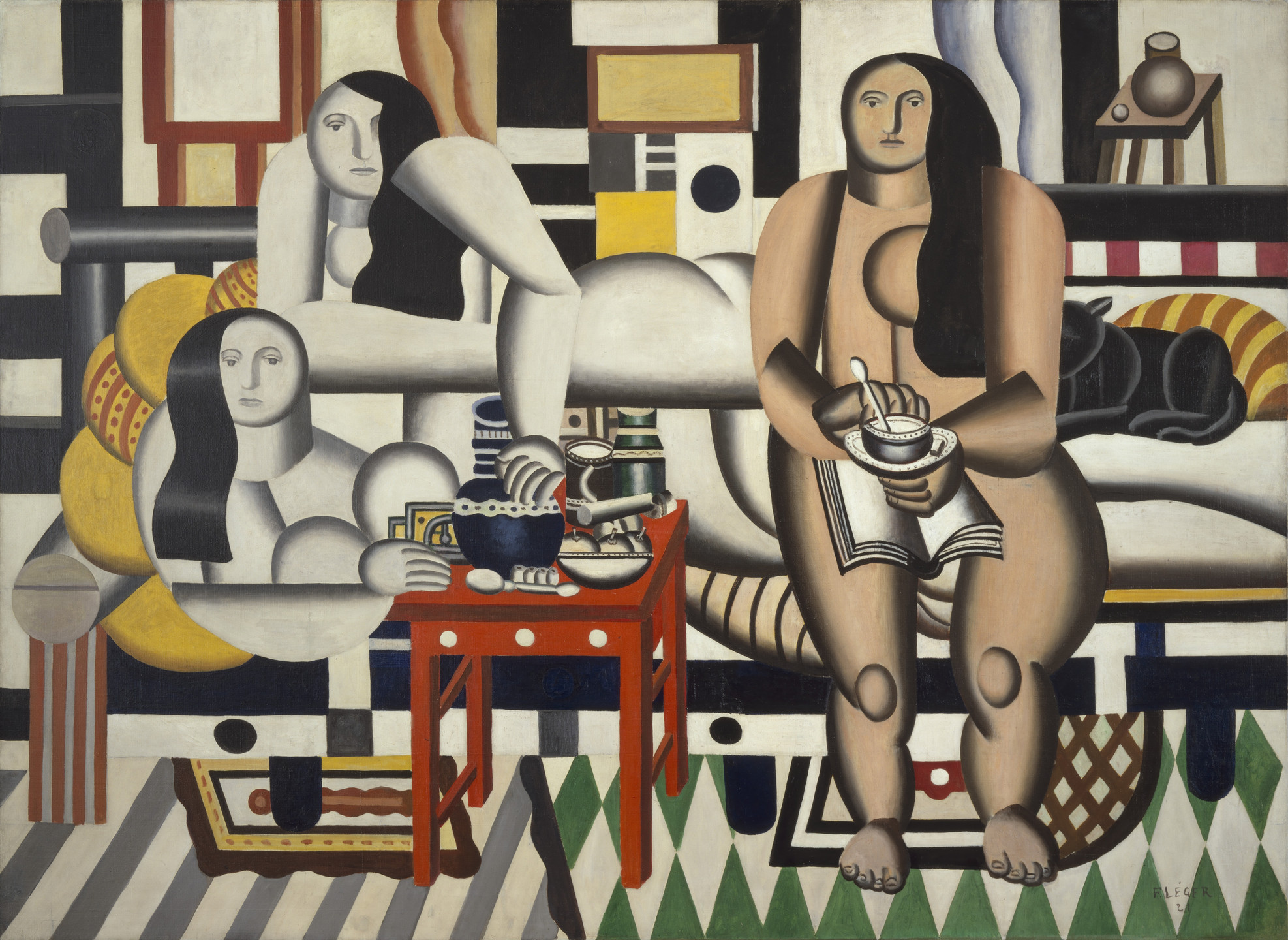 Fernand Léger. Three Women. 1921-22
