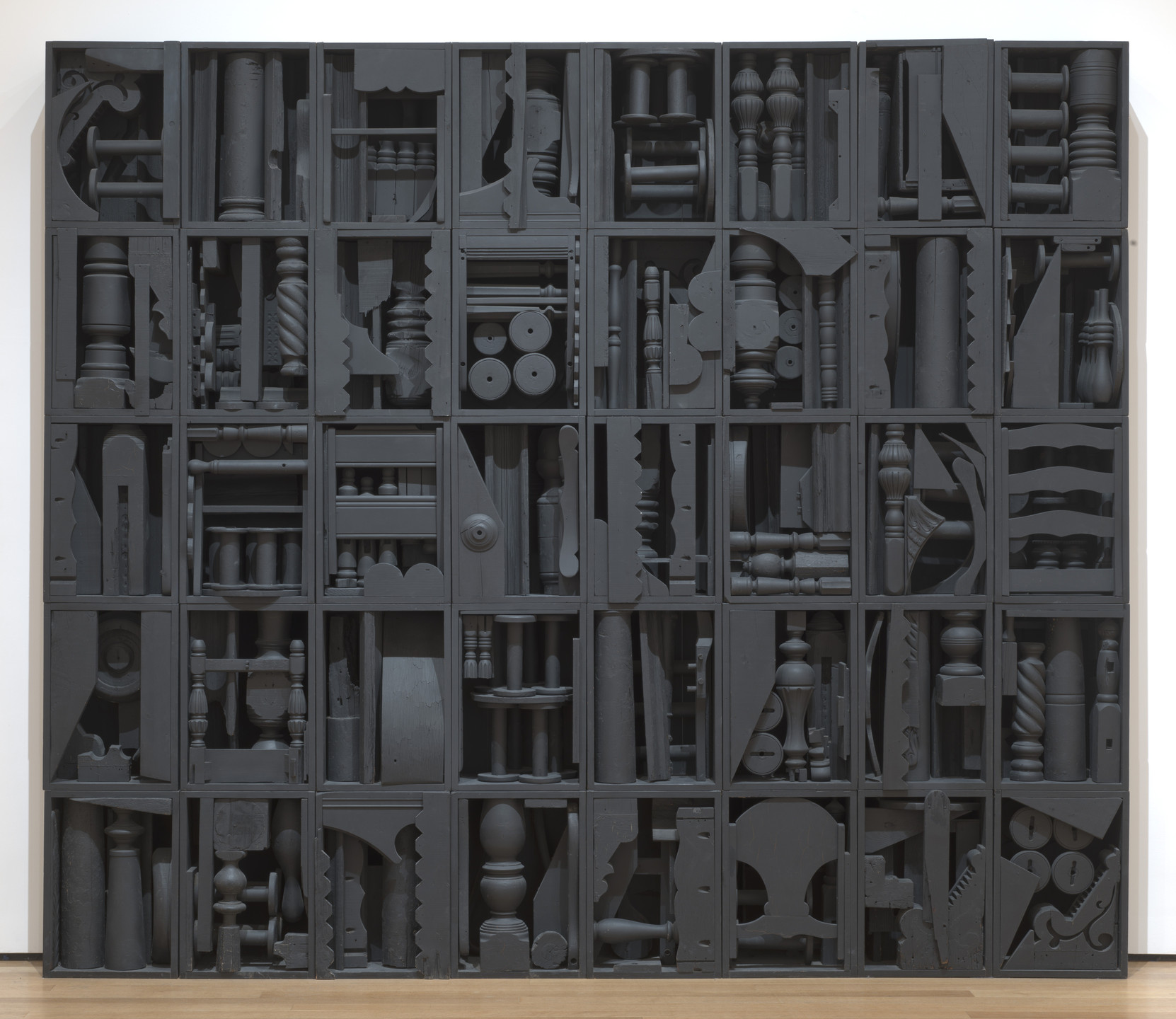 Louise Nevelson. Big Black. 1963