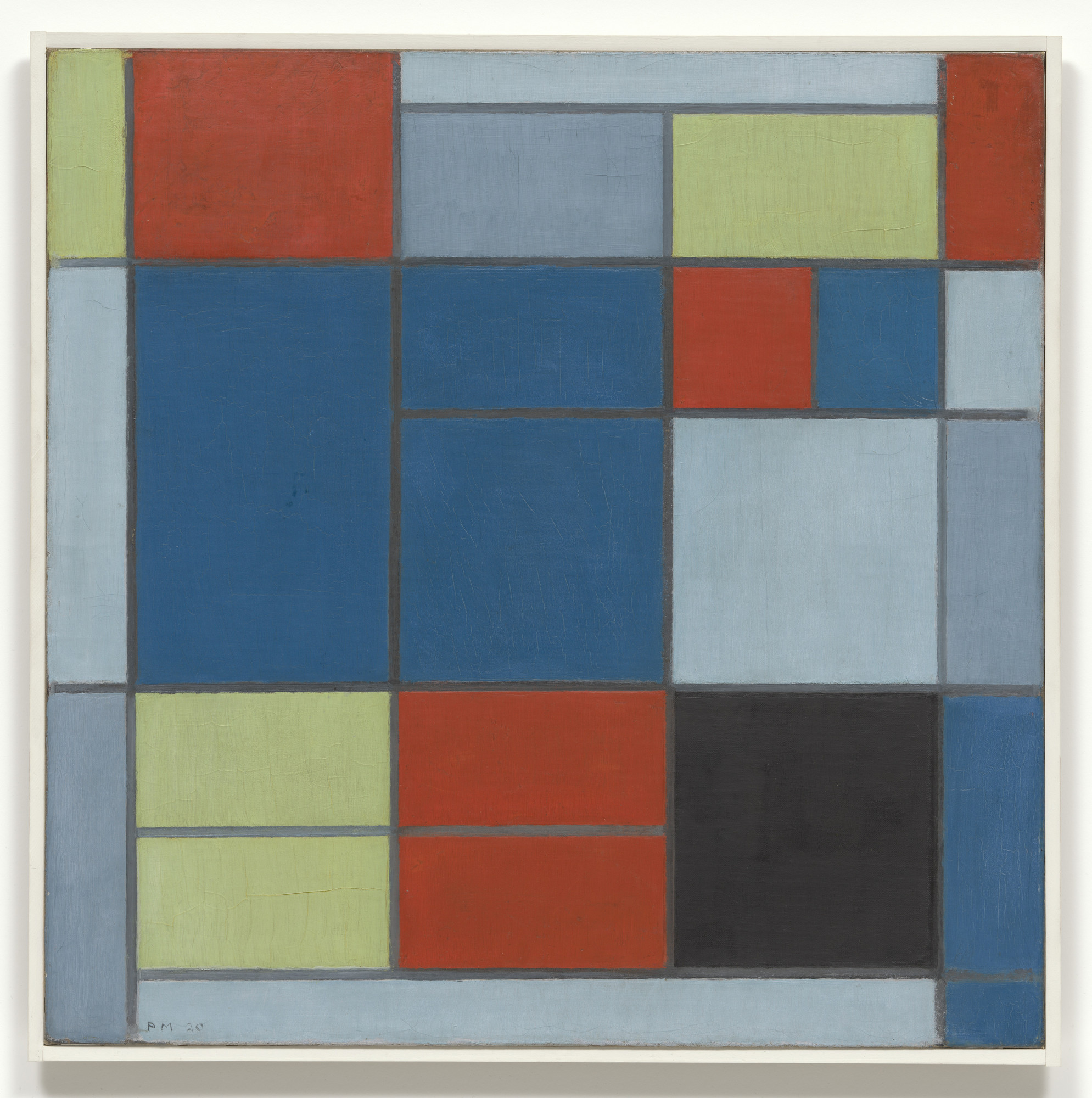 Piet Mondrian. Composition C. 1920