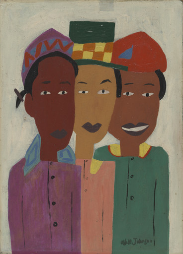 William H. Johnson. Children. 1941