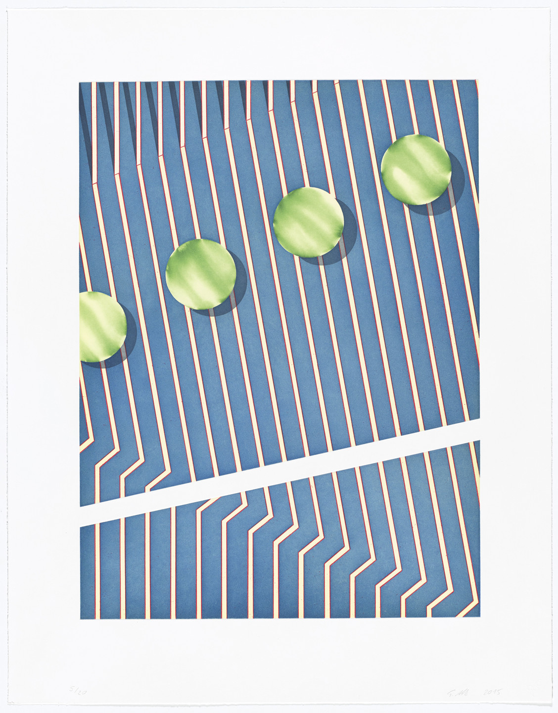 Tomma Abts. Untitled (gap). 2015