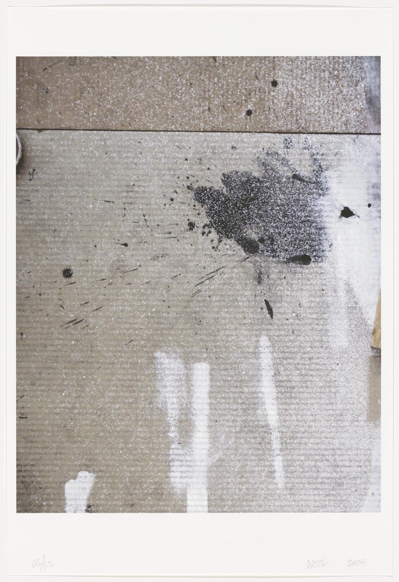 Christopher Wool. Untitled from Four Short Stories. 2004