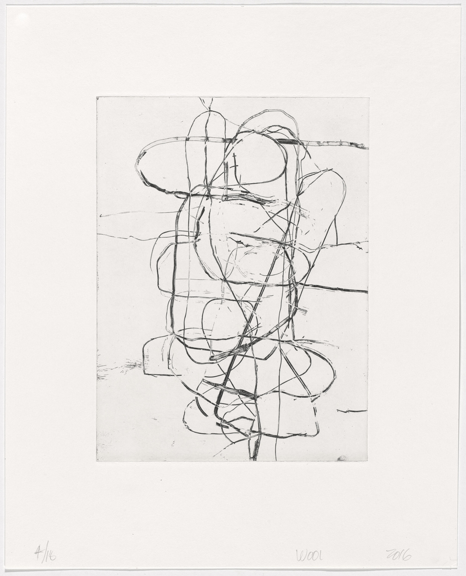 Christopher Wool. Untitled from an untitled portfolio. 2016