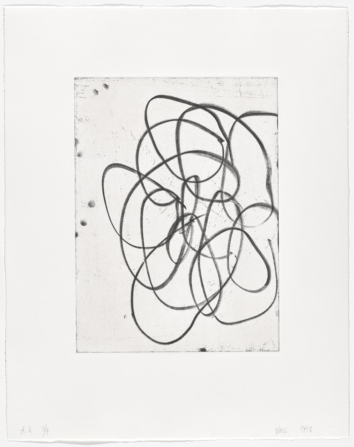 Christopher Wool. Untitled from an untitled series. 1998