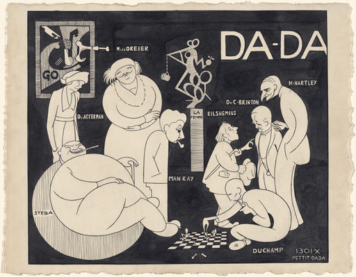 Richard Boix. Da-Da (New York Dada Group). 1921