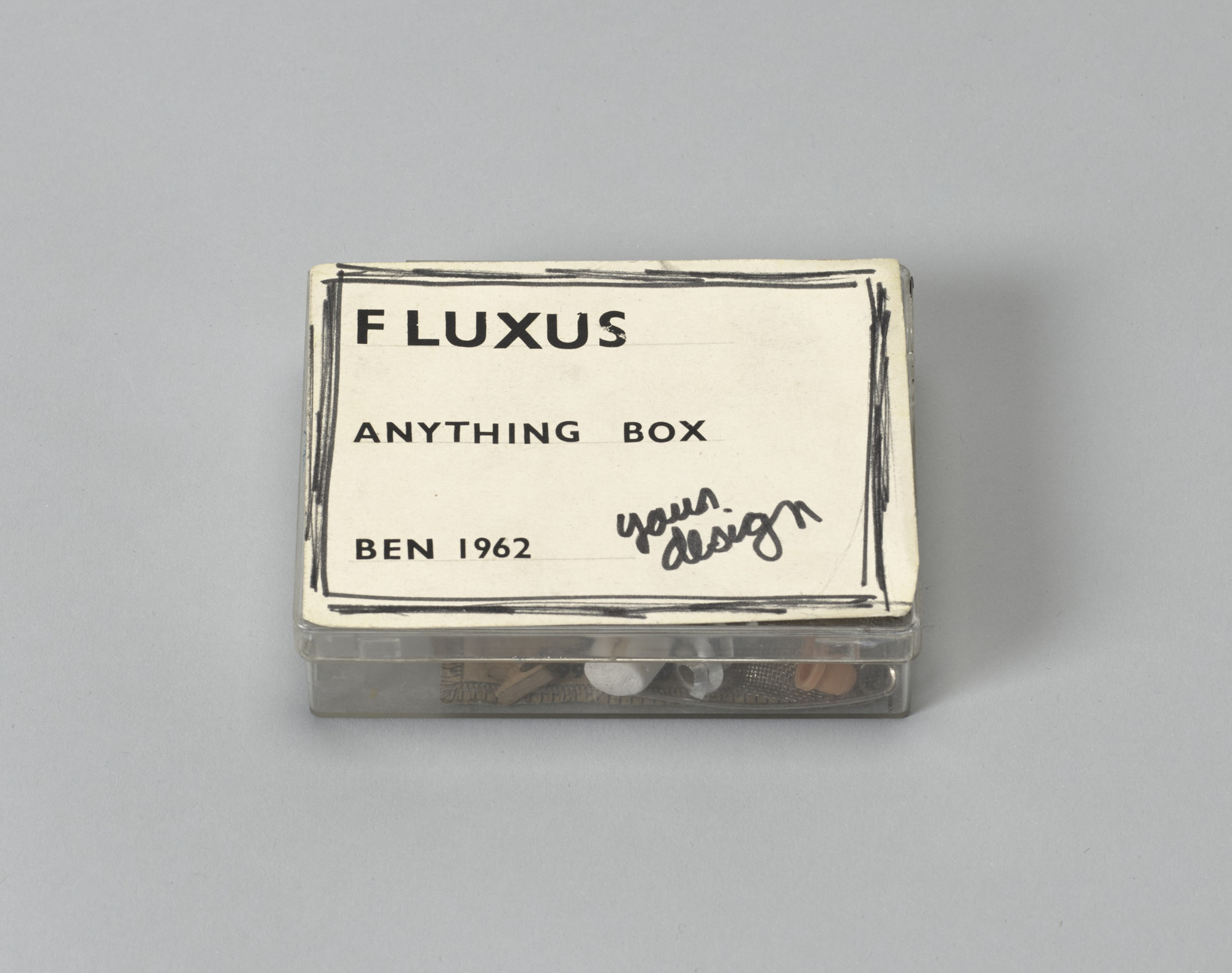 Ben Vautier. Fluxus Anything Box. 1962