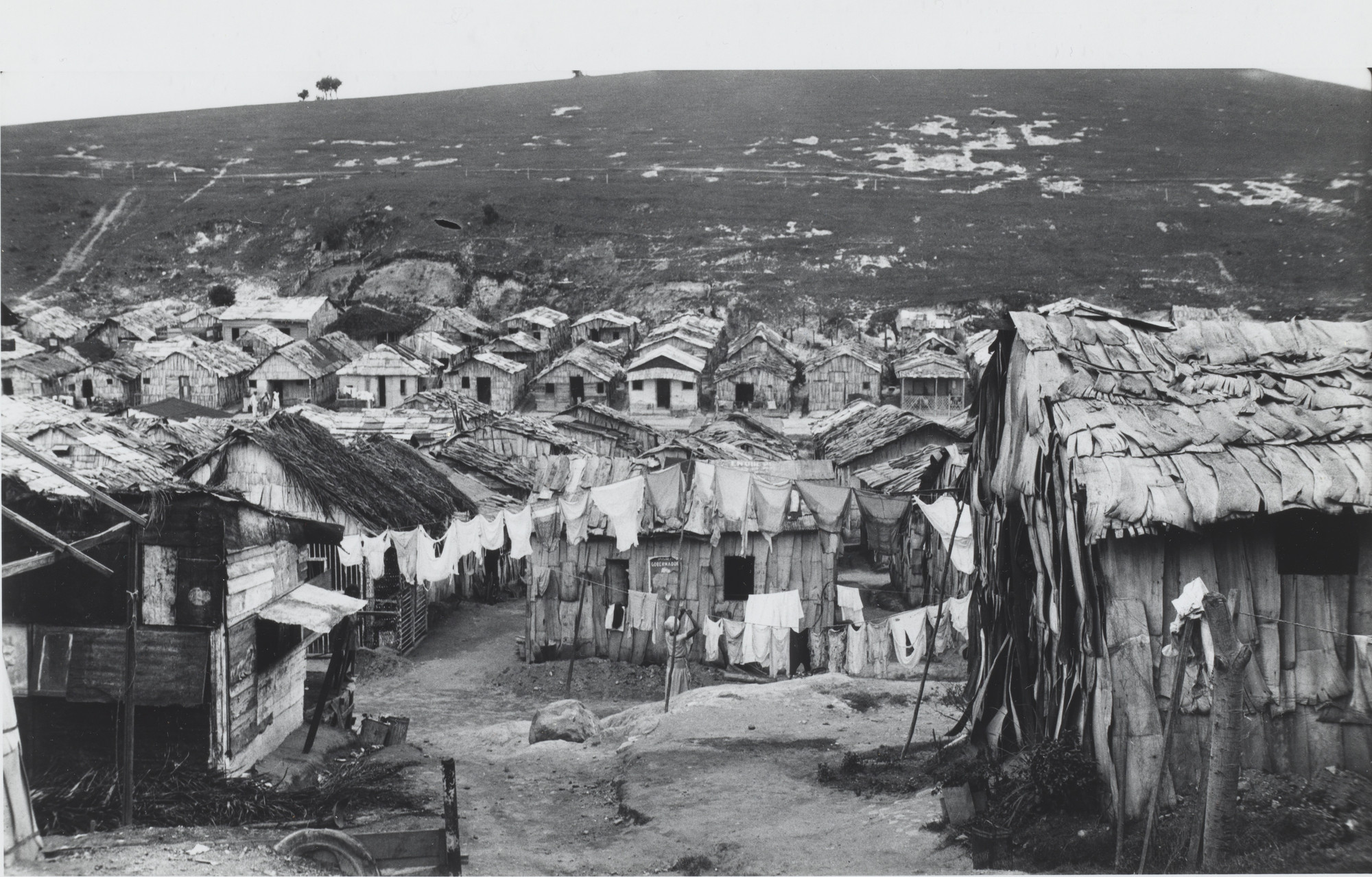 Walker Evans. Squatters' Village. 1933
