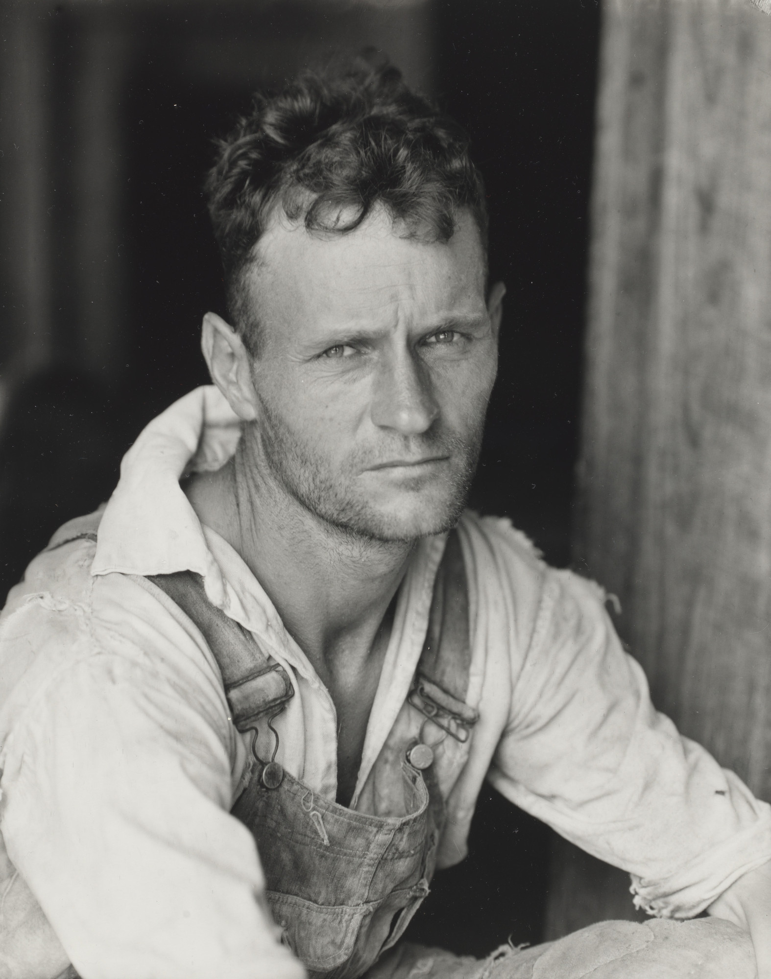 Walker Evans. Sharecropper, Hale County, Alabama. 1936