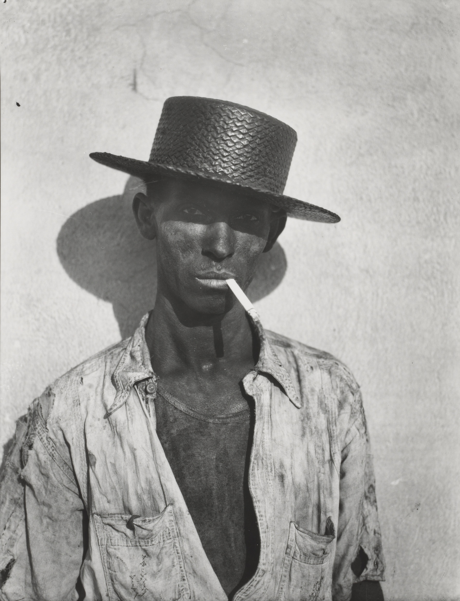 Walker Evans. Havana Dock Worker. 1932-33