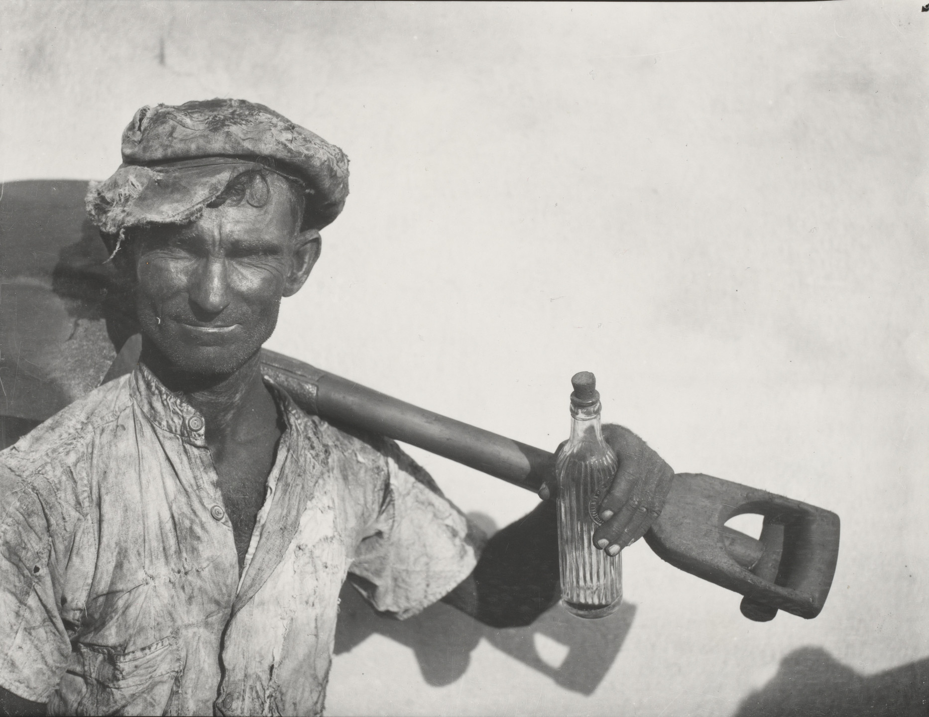 Walker Evans. Cuban Dock Worker. 1933