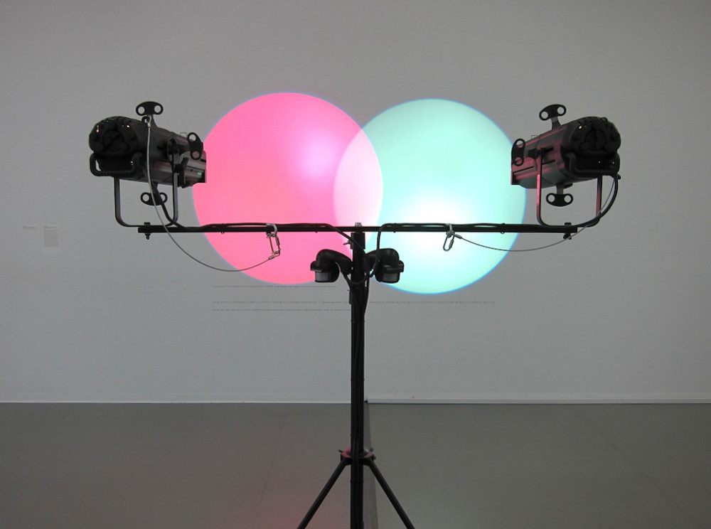 Amalia Pica. Venn Diagrams (Under the Spotlight). 2011