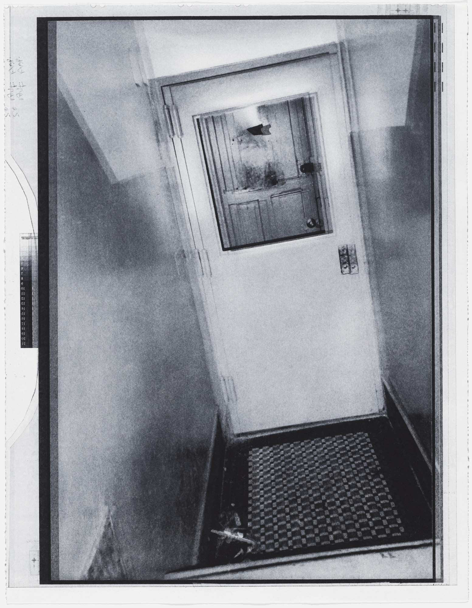 Christopher Wool. Untitled from an untitled portfolio. 1997
