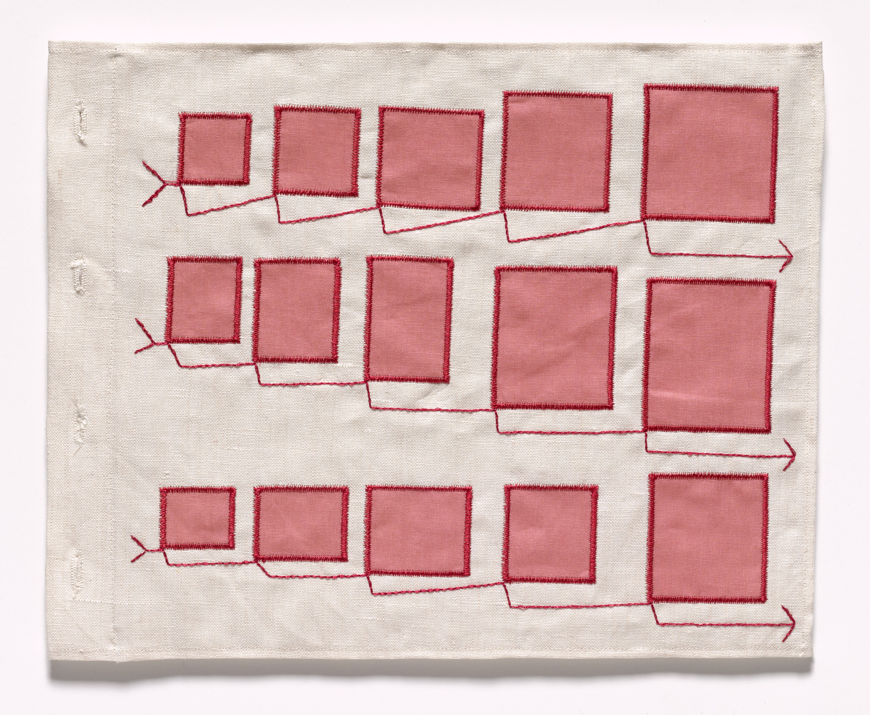 Louise Bourgeois. Untitled, no. 7 of 34, from the illustrated book, Ode à l'Oubli. 2004