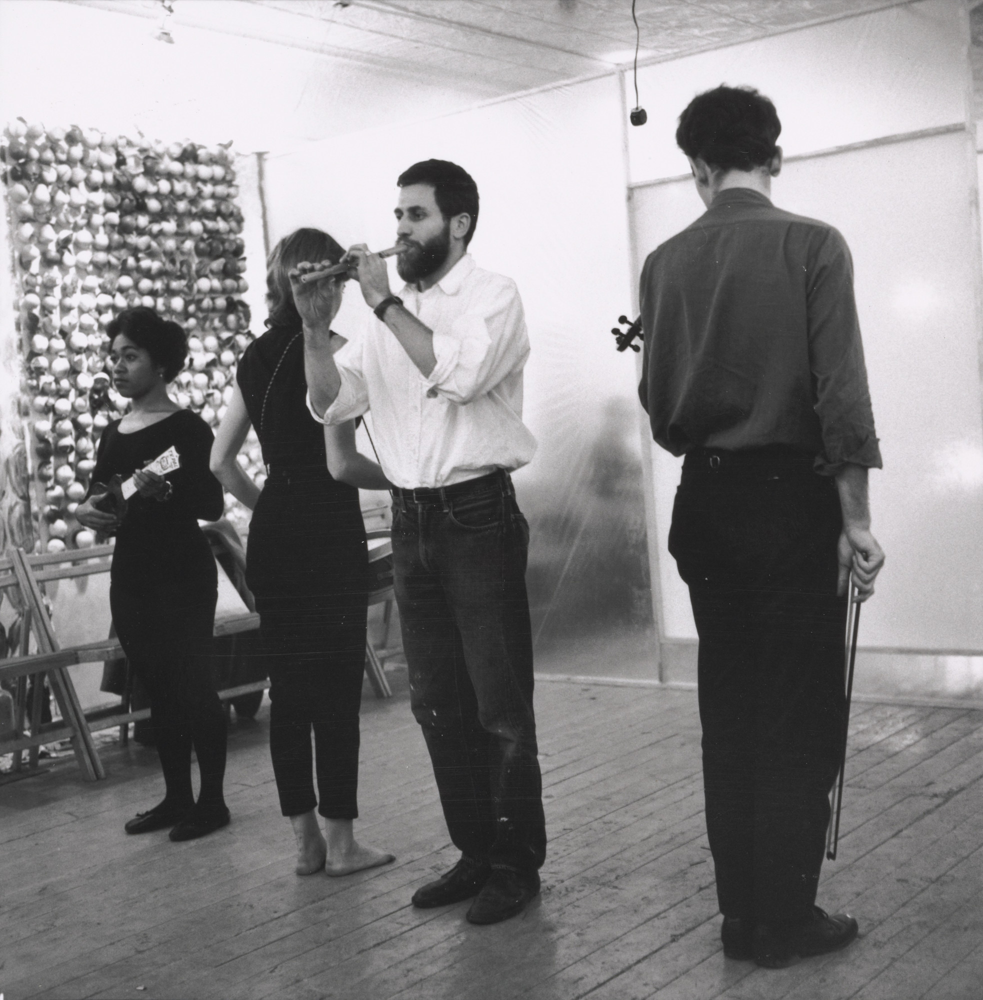 Fred W. McDarrah. 18 Happenings in 6 Parts, Reuben Gallery, New York, October 1959. 1959