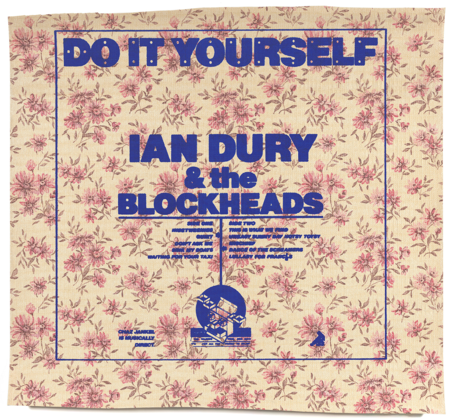 Barney Bubbles (Colin Fulcher). Ian Dury, Do It Yourself (Poster for album distributed by Stiff Records, London). 1979