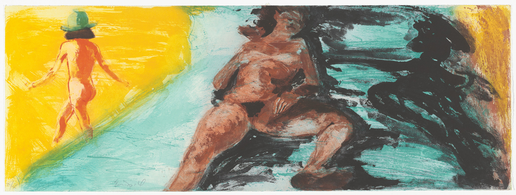 Eric Fischl. Untitled from Floating Islands. 1985
