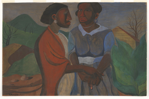 Romare Bearden. The Visitation. 1941