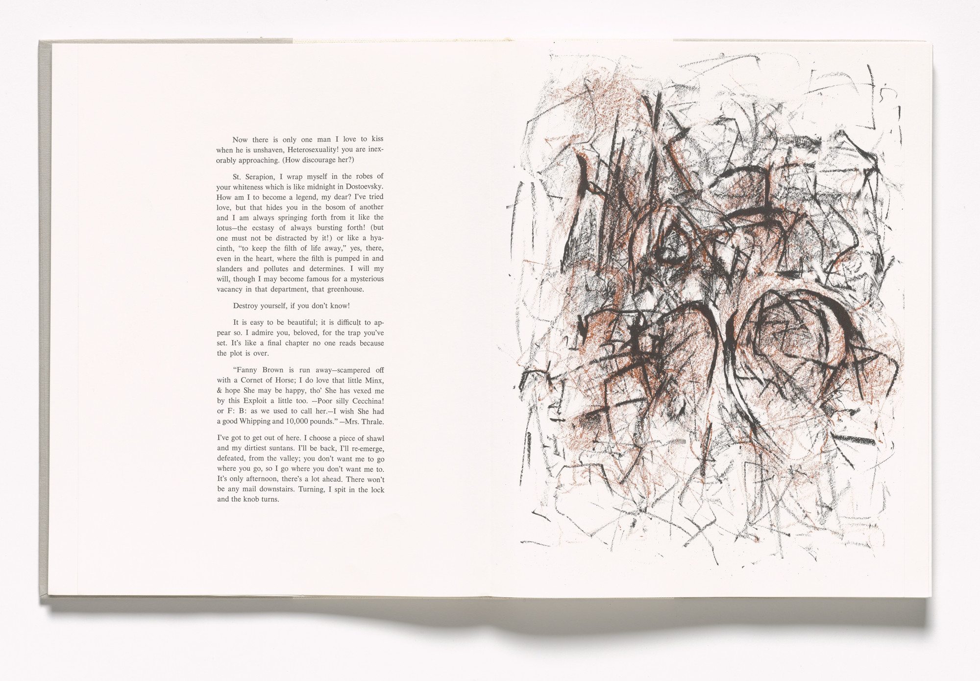 Joan Mitchell  Plate (folio 34 recto) from In Memory of My