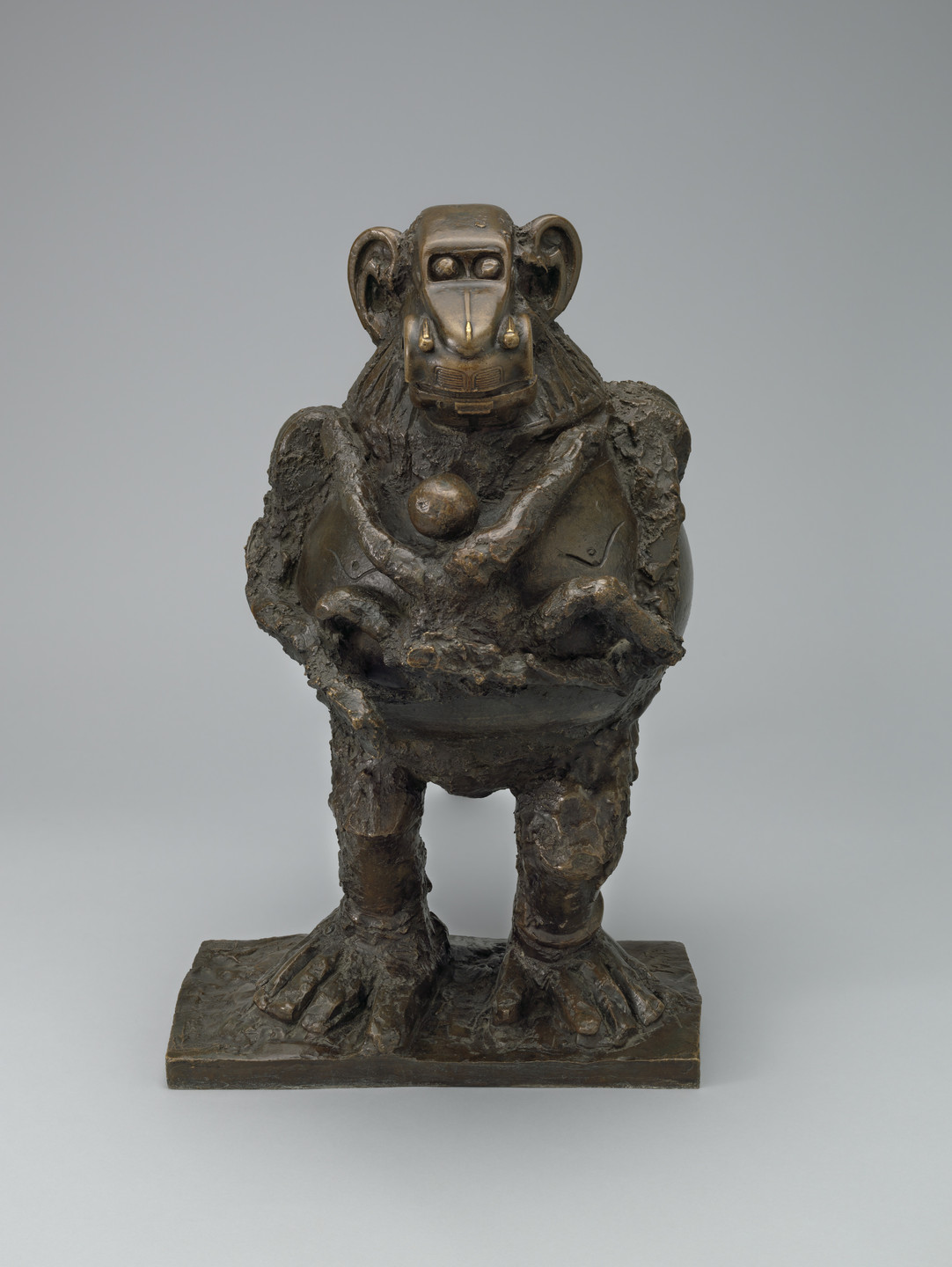 Pablo Picasso. Baboon and Young. Vallauris, October 1951 (cast 1955)