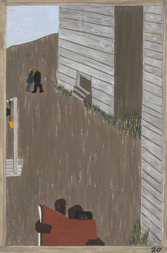 Jacob Lawrence. In many of the communities the Negro press was read continually because of its attitude and its encouragement of the movement. 1940-41