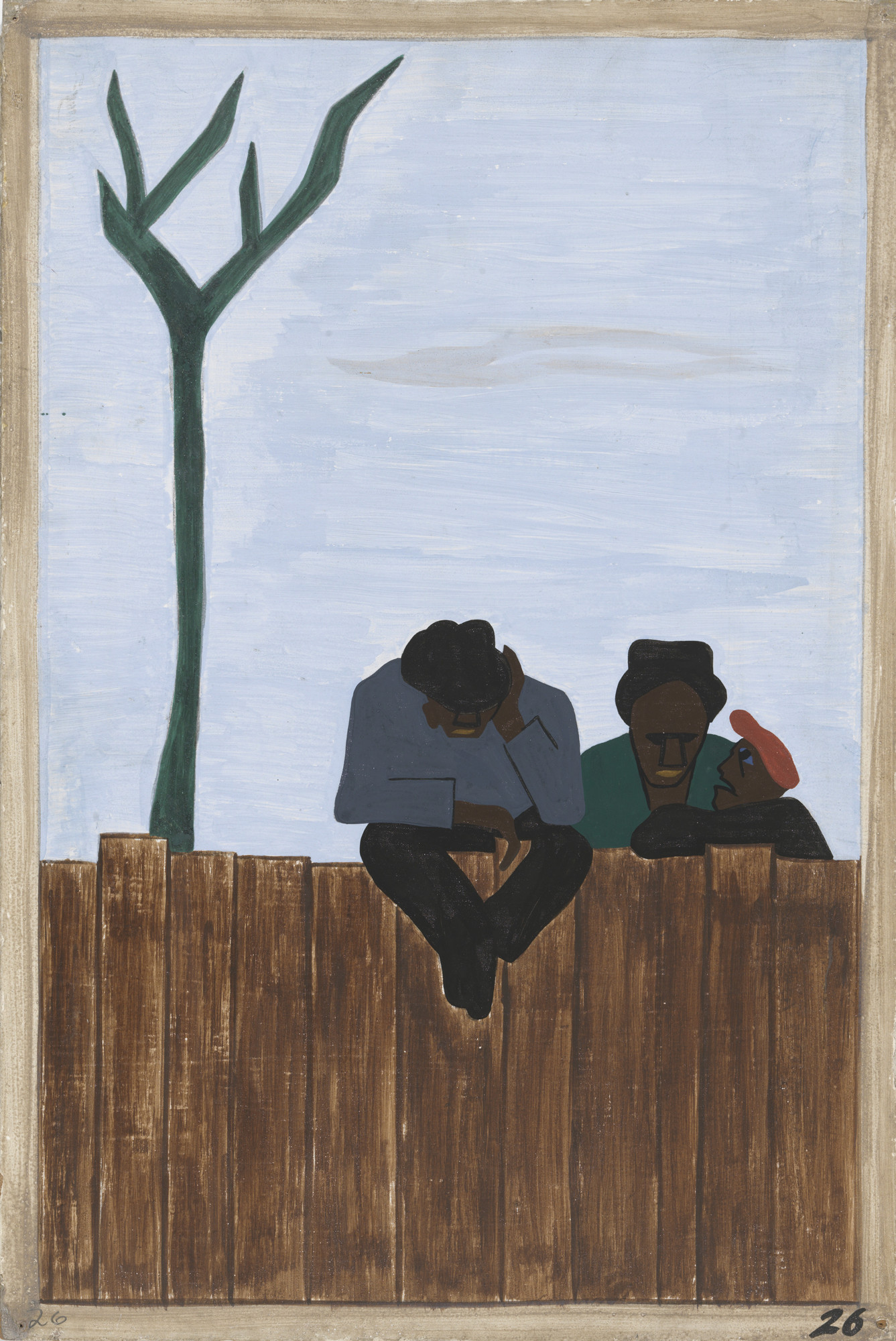 Jacob Lawrence. And people all over the South began to discuss this great movement. 1940-41