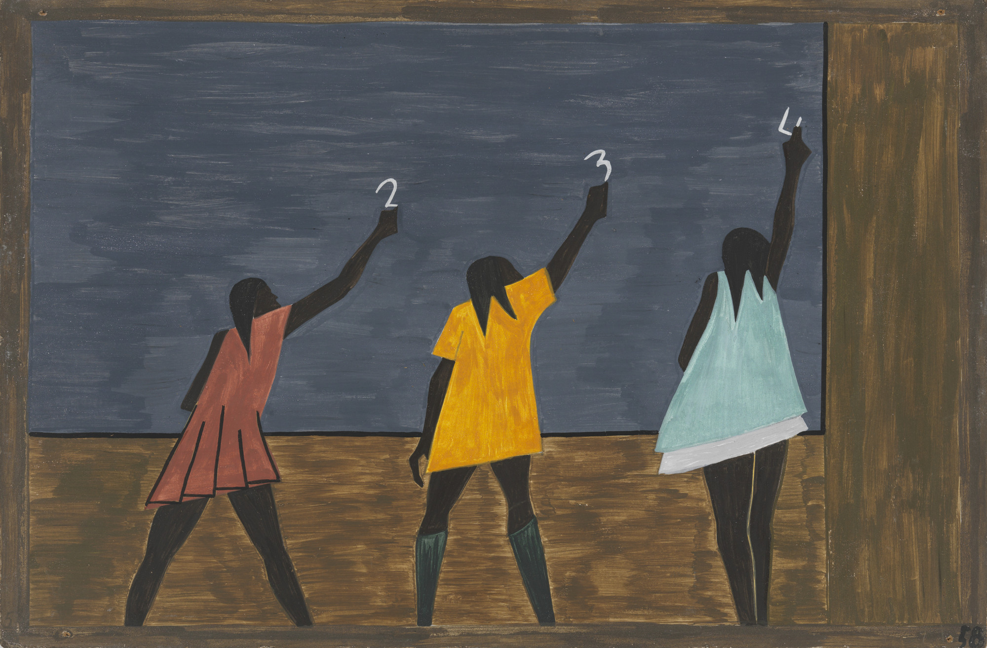 Jacob Lawrence. In the North the Negro had better educational facilities. 1940-41