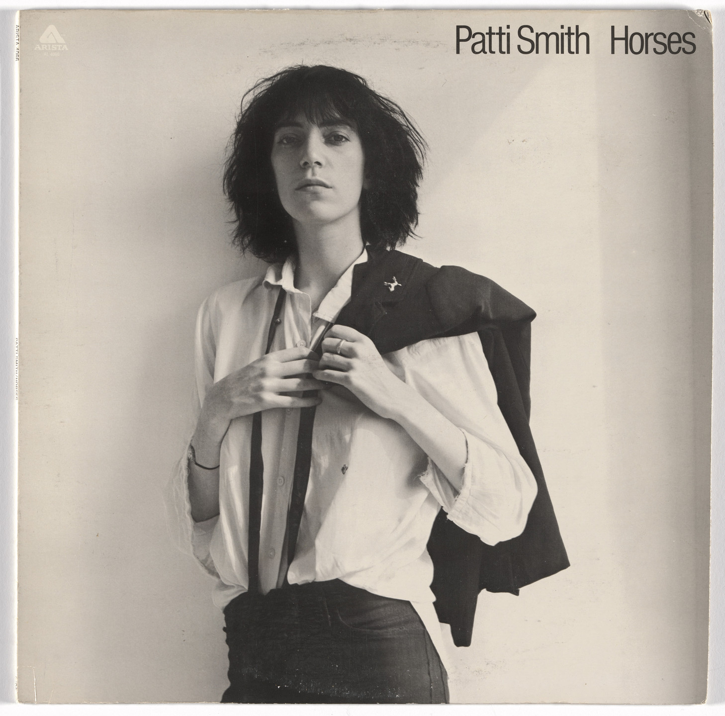Robert Mapplethorpe, Bob Heimall, Arista Records. Album cover for Patti Smith, Horses. 1975