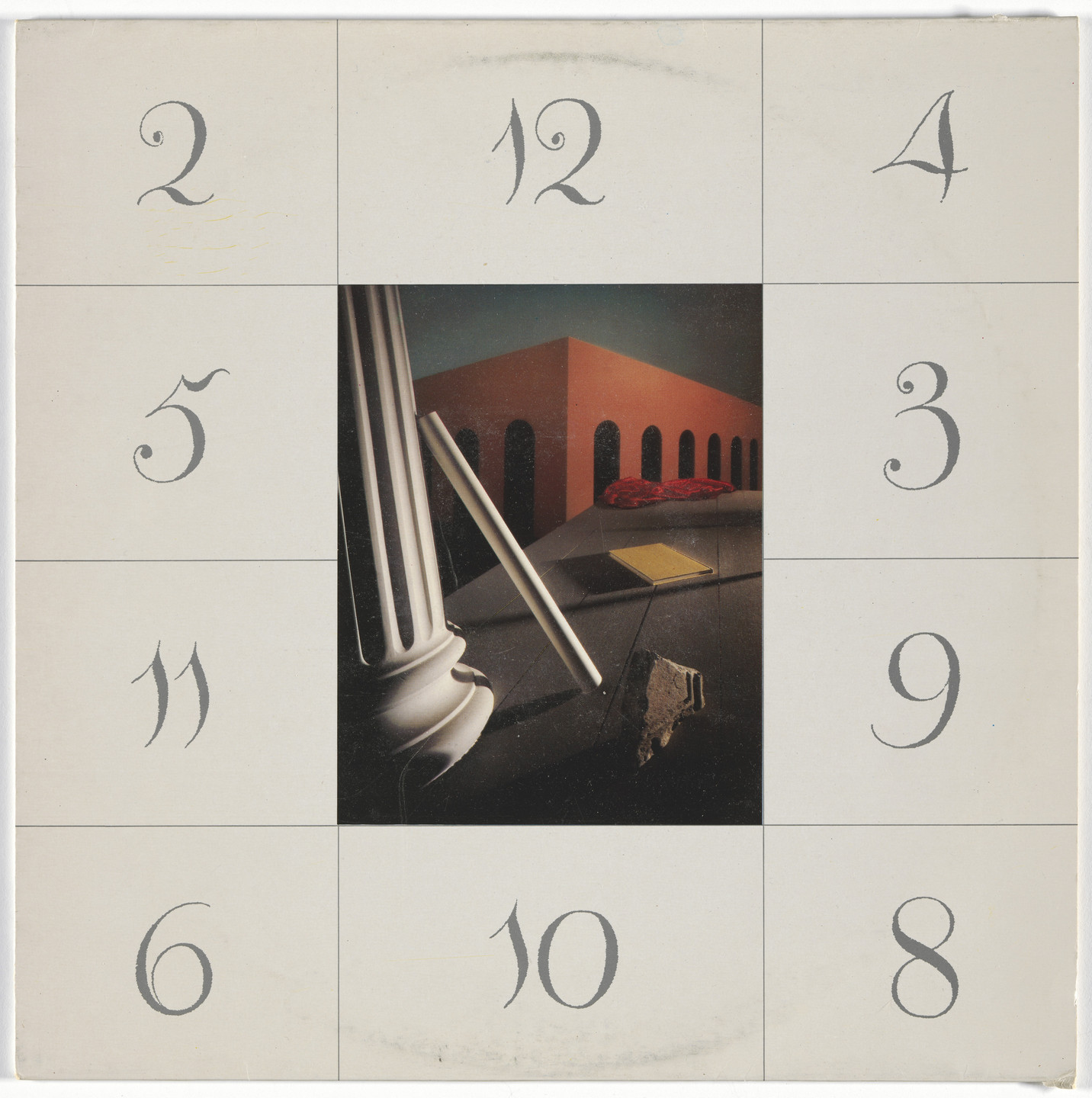 Peter Saville, Trevor Key, Factory Records, Manchester. Album cover for New Order, Thieves Like Us. 1984