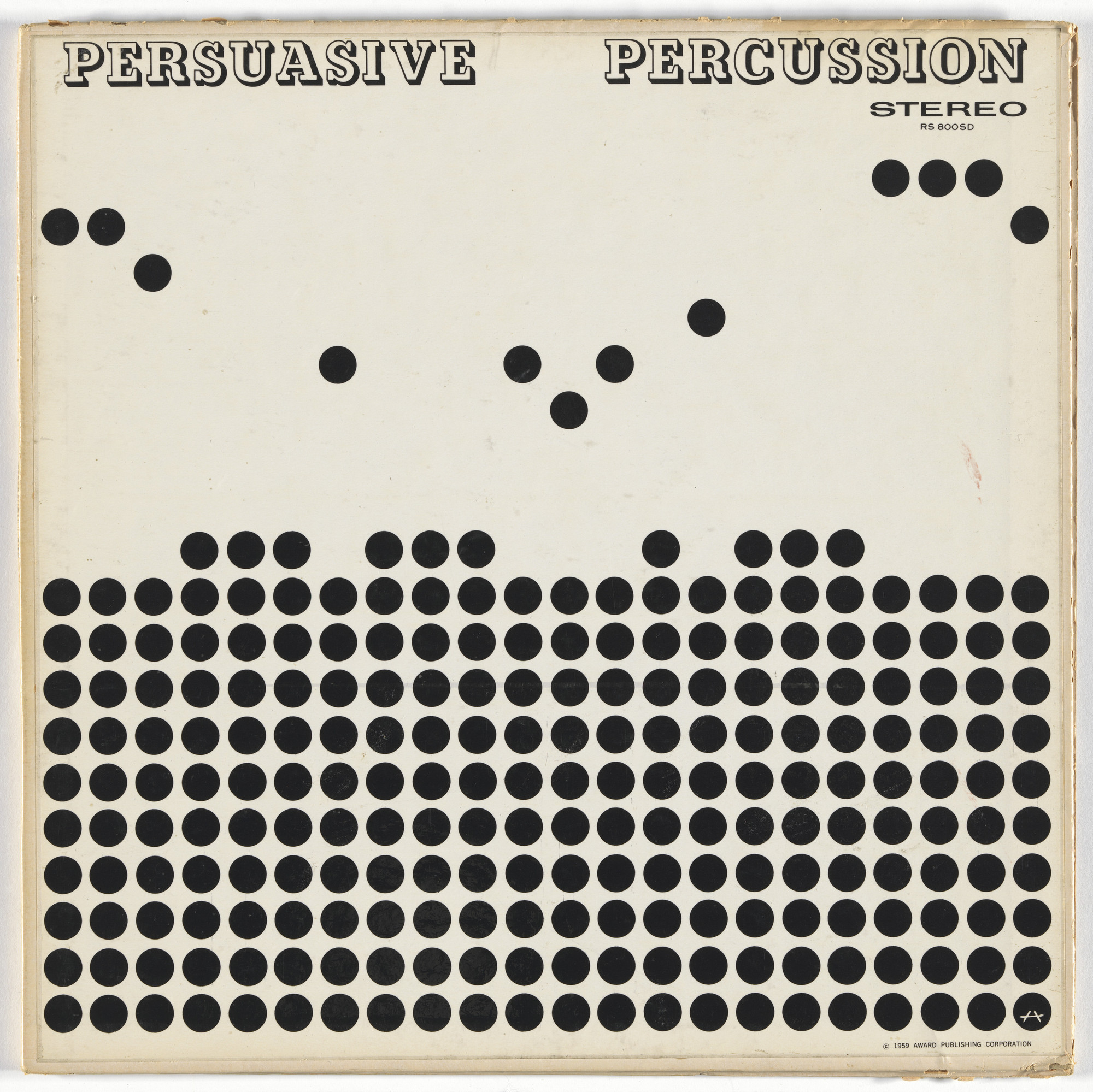 Josef Albers, Charles E. Murphy, Command Records. Album cover for Terry Snyder and the All Stars, Persuasive Percussion. 1959