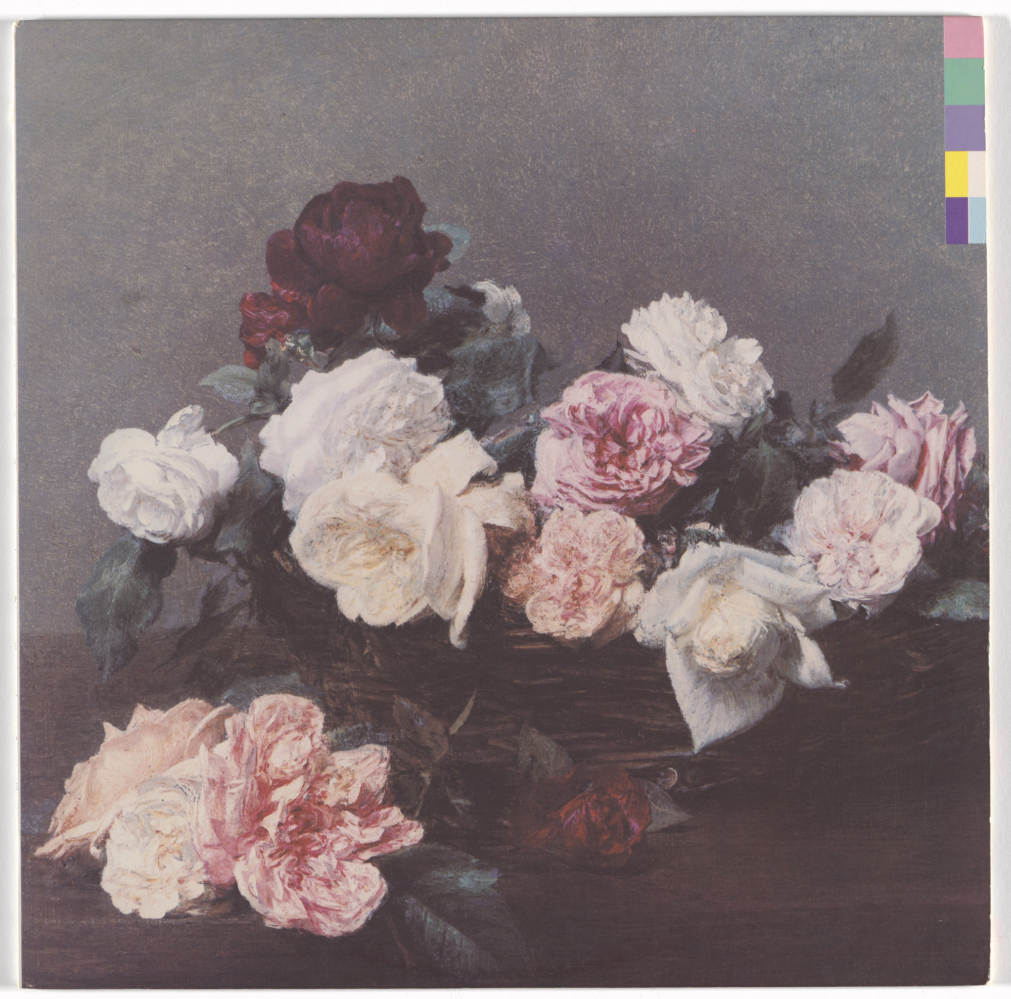 Peter Saville, Factory Records, Manchester, Henri Fantin-Latour. Album cover for New Order, Power, Corruption & Lies. 1983