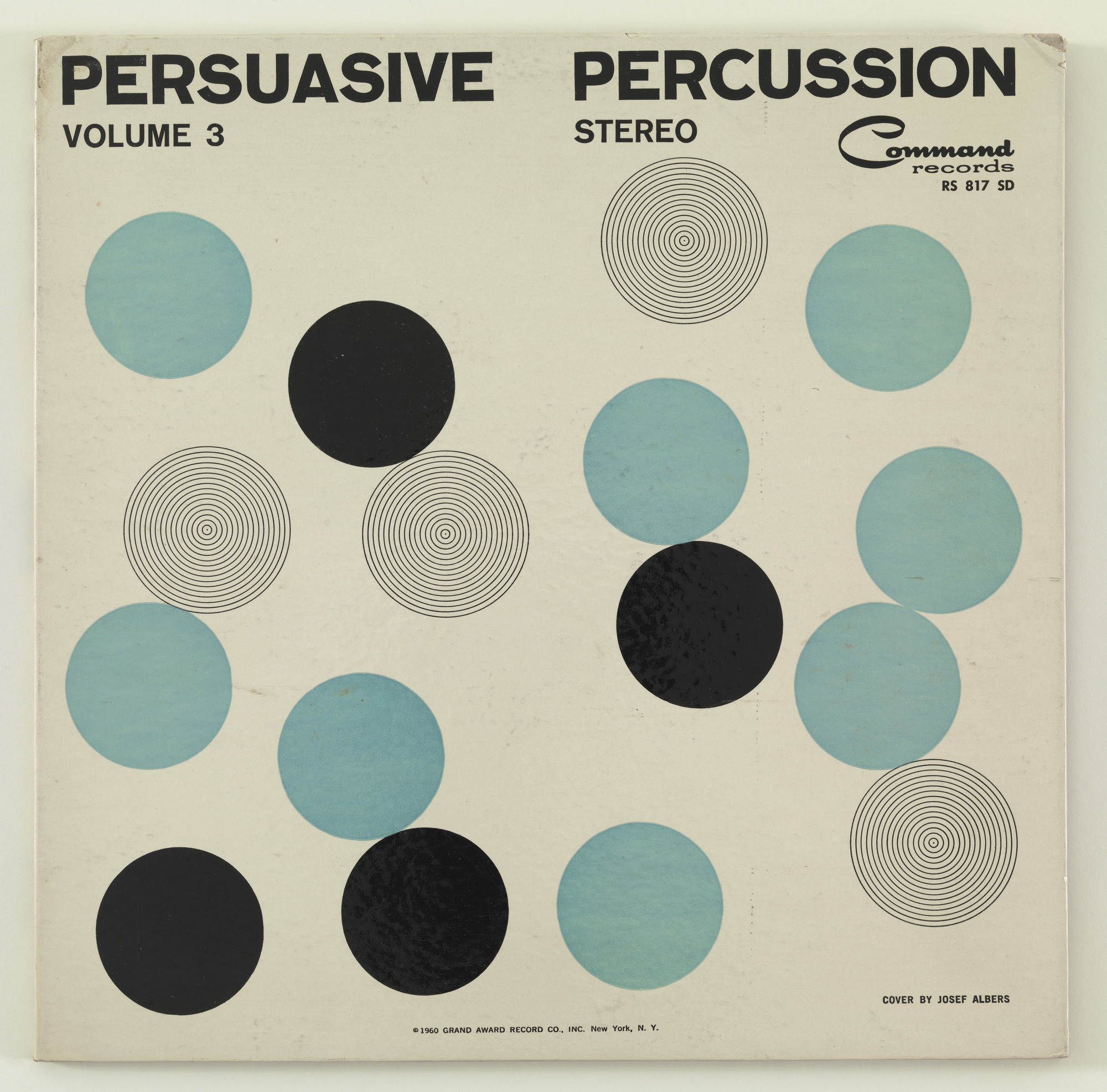 The Command All-Stars, Josef Albers. Persuasive Percussion Volume 3. 1960