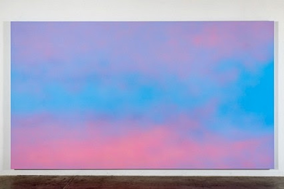 Alex Israel. Sky Backdrop. 2013
