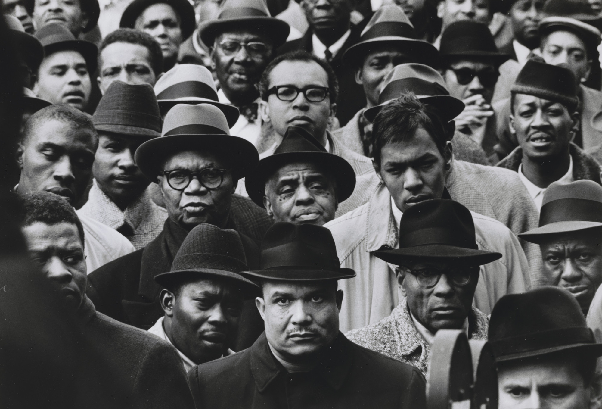 Gordon Parks. Black Muslim Rally, Harlem, New York. 1963