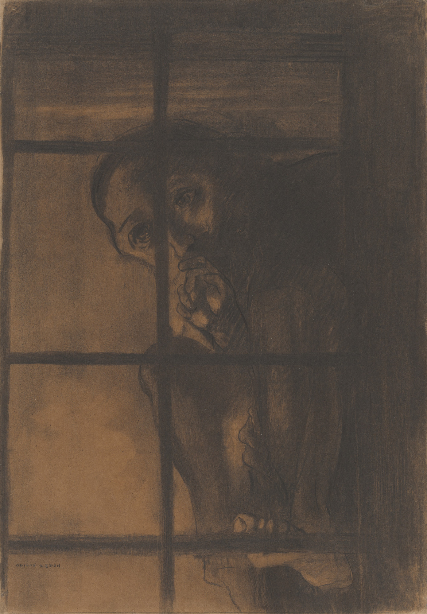 Odilon Redon. The Convict. 1881