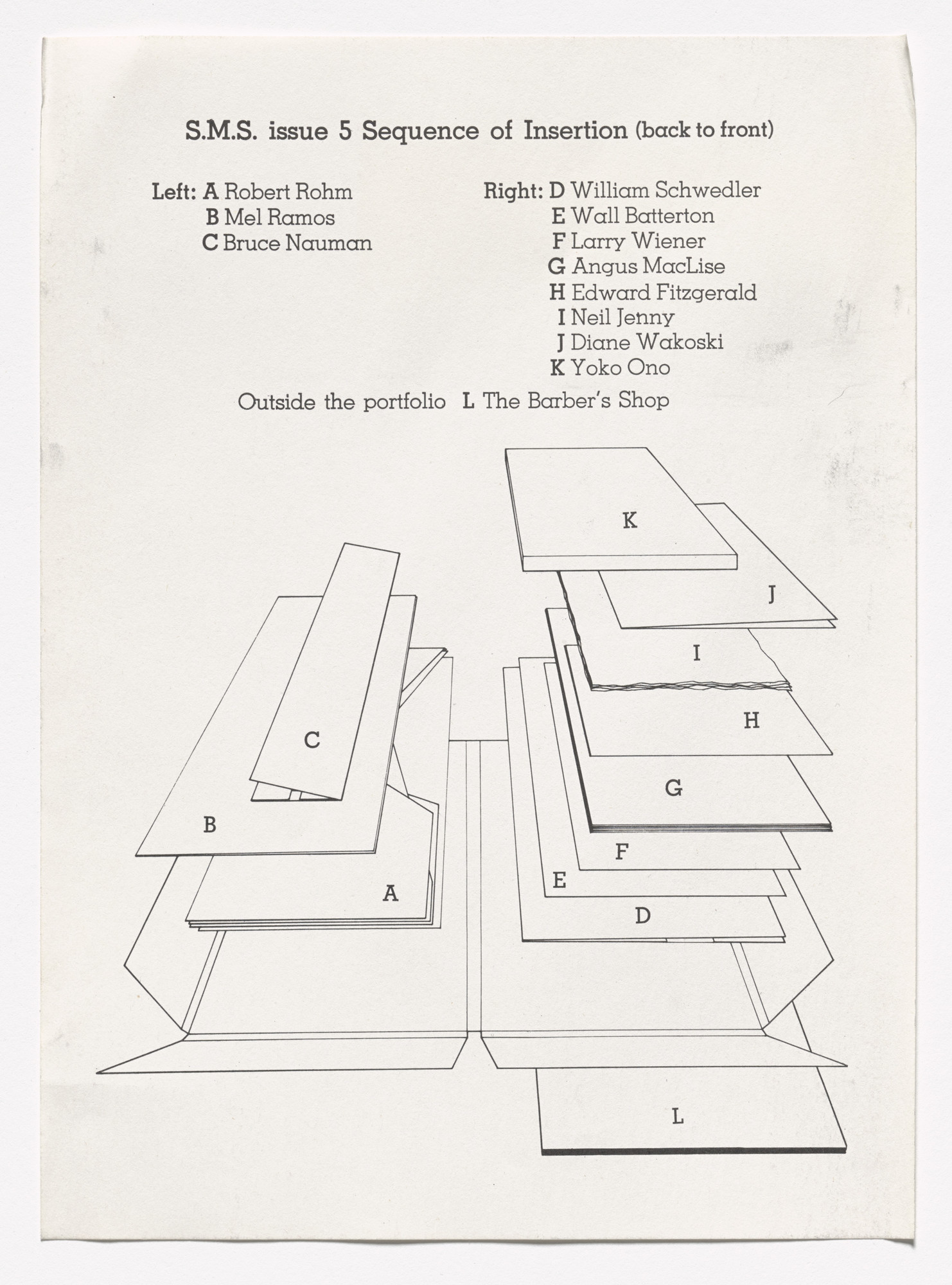 Lawrence Weiner Moma Series Circuit Diagram For Kids Untitled Document