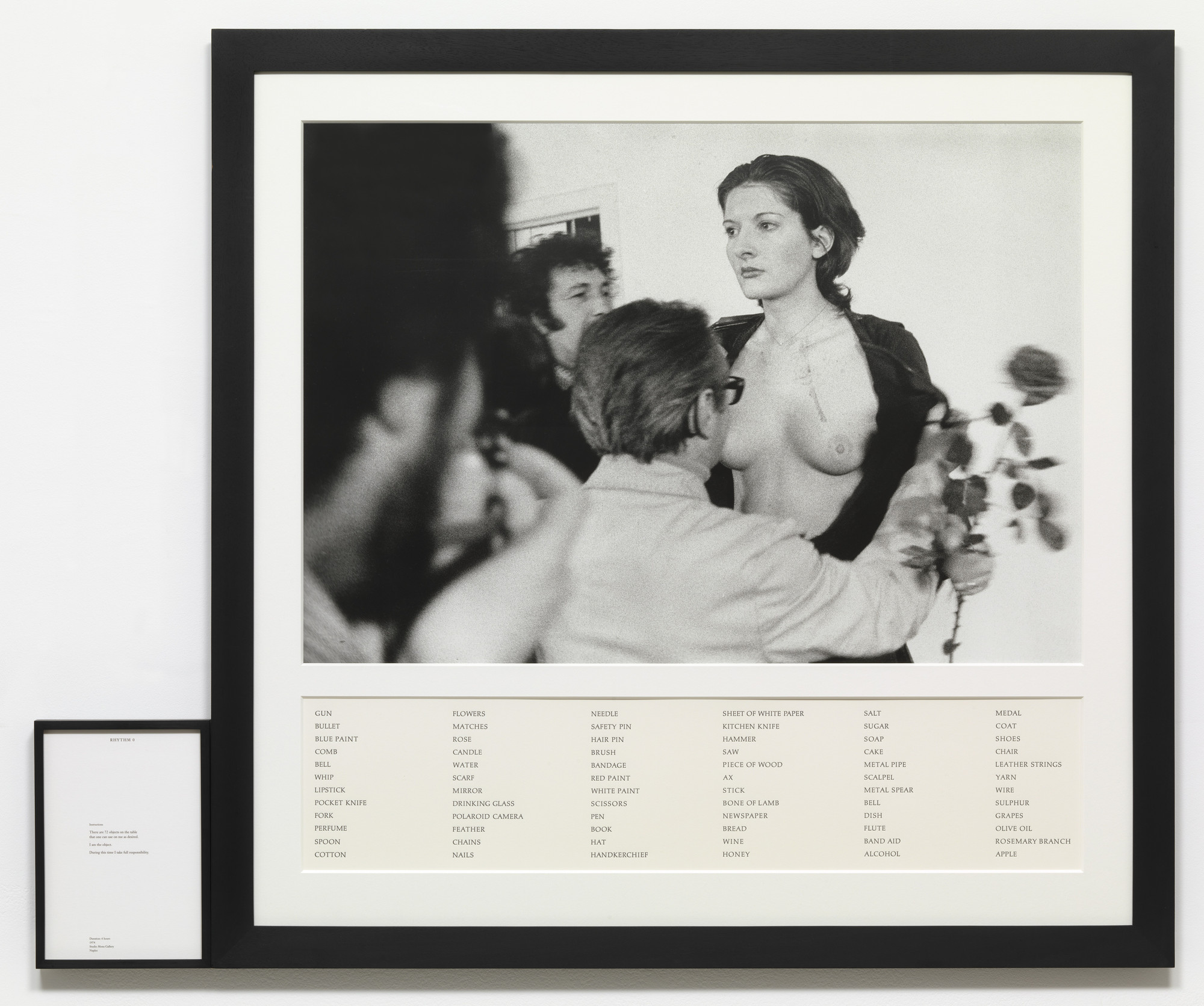 Marina Abramović. Rhythm 0 (from Performance Edition 1973-1994). 1974/1994