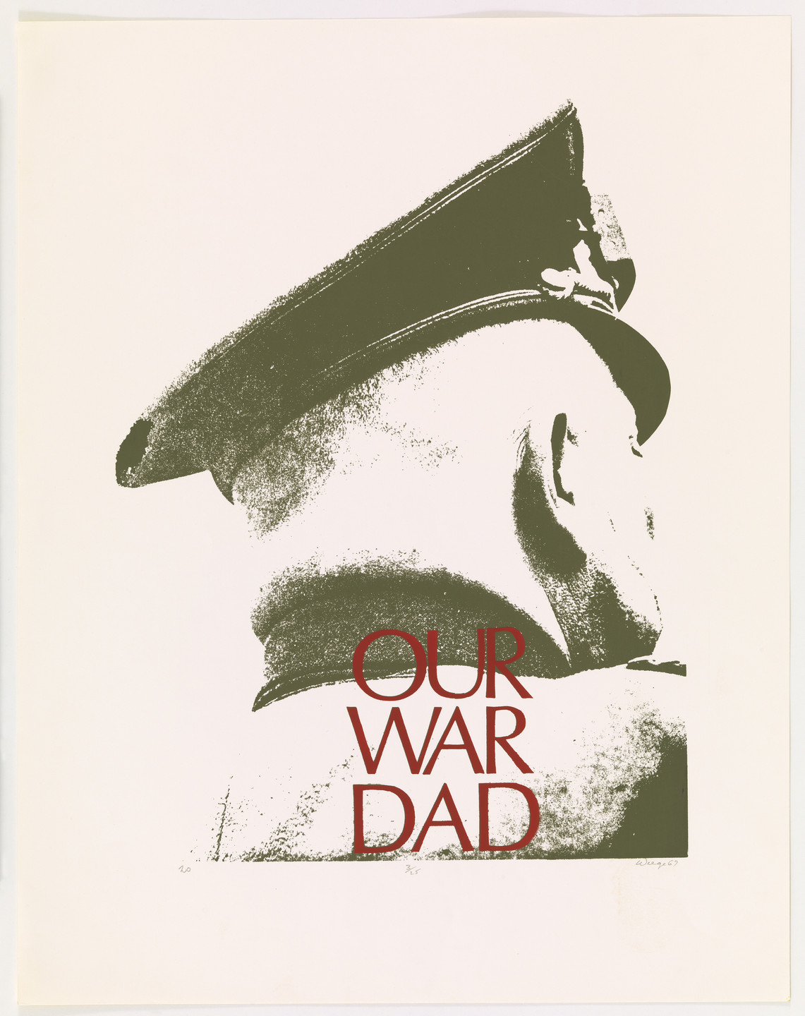 William Frederick Weege III. Our War Dead from Peace is Patriotic. 1967