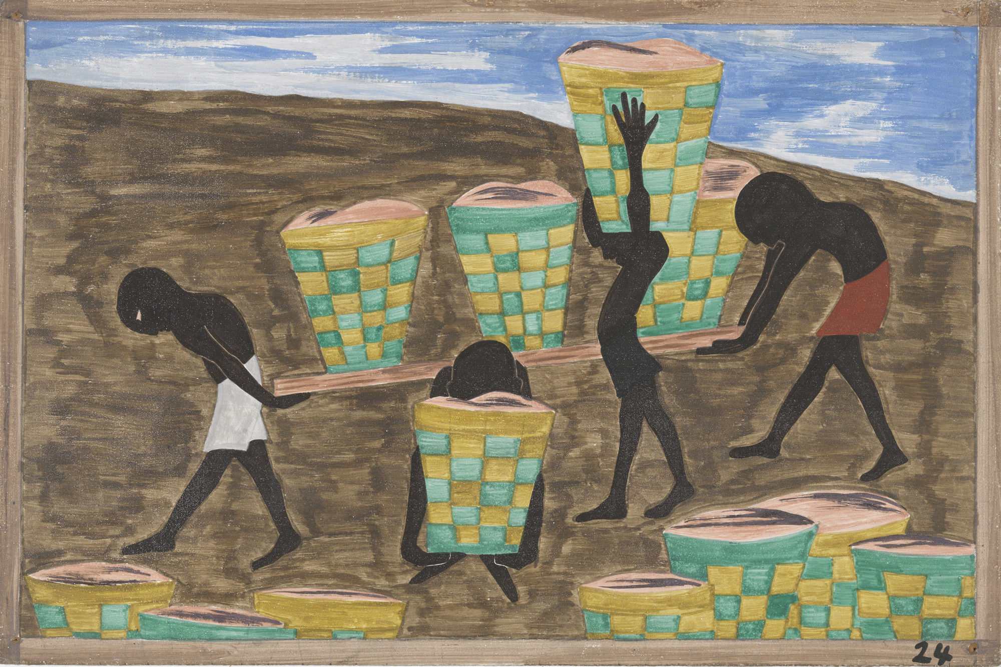 Jacob Lawrence. Child labor and a lack of education was one of the other reasons for people wishing to leave their homes. 1940-41