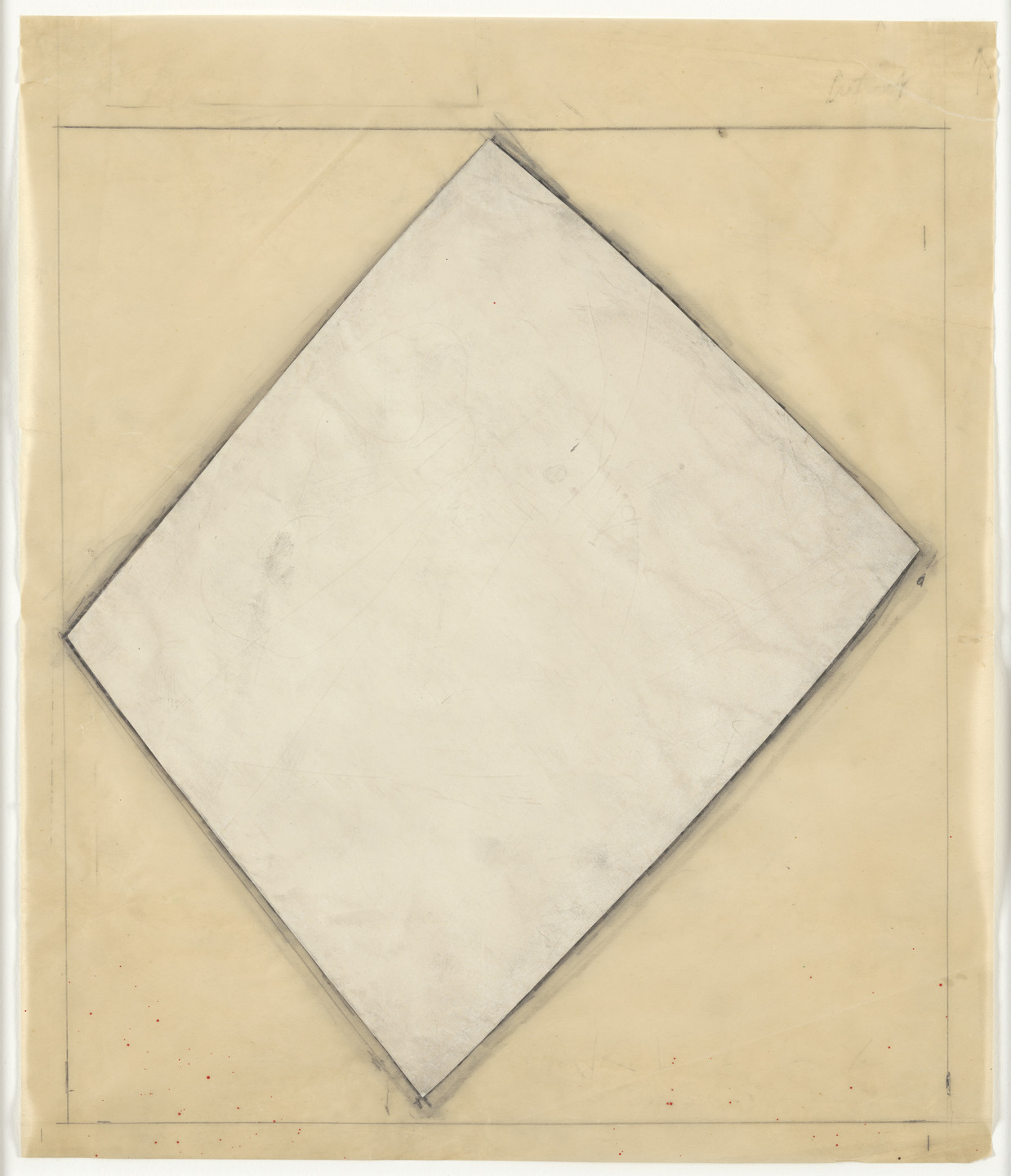 Ellsworth Kelly. Study for White Sculpture. (1958)