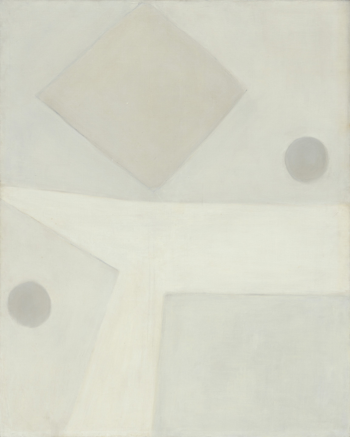 Agnes Martin. Harbor Number 1. 1957
