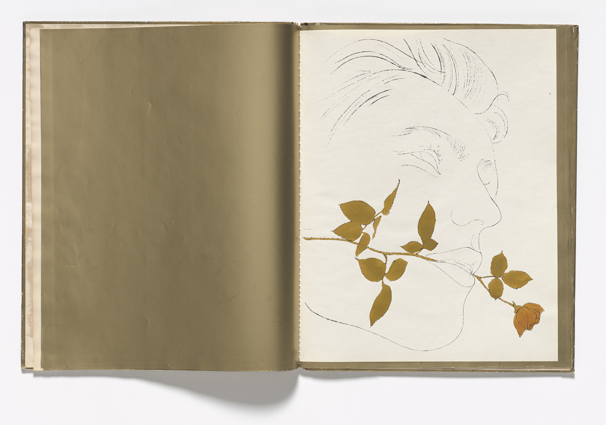Andy Warhol. A Gold Book. 1957